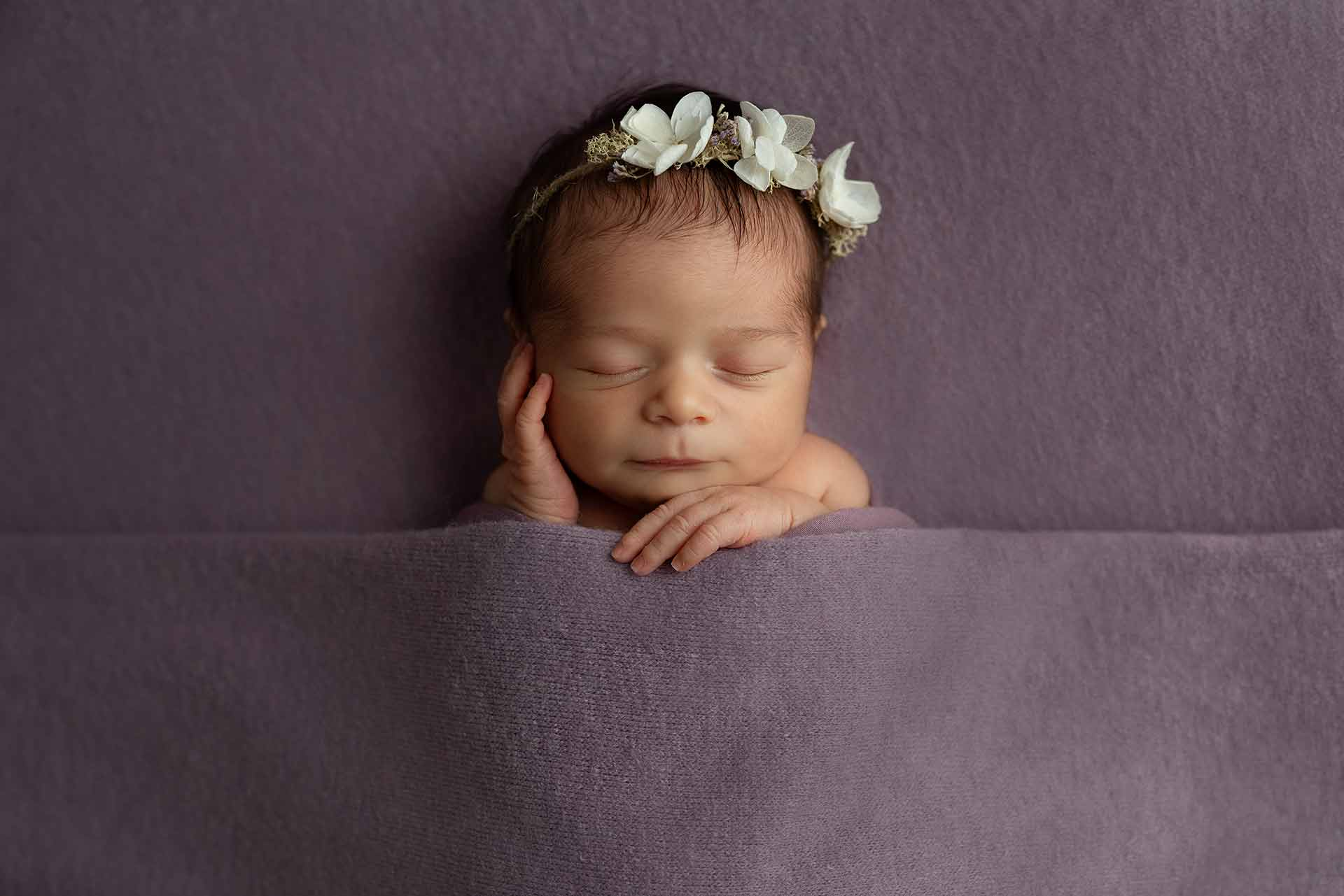 Ana's Newborn photo session