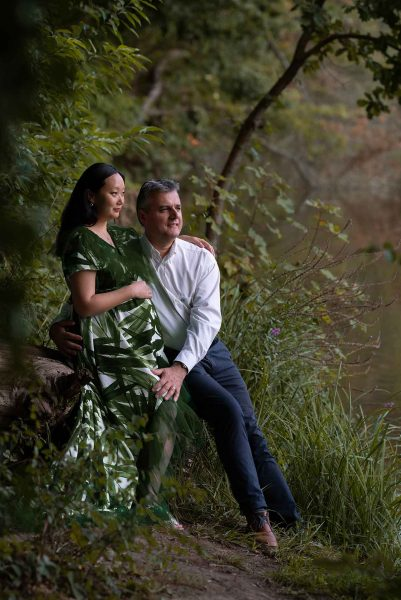 Elizabeth's outdoor maternity session